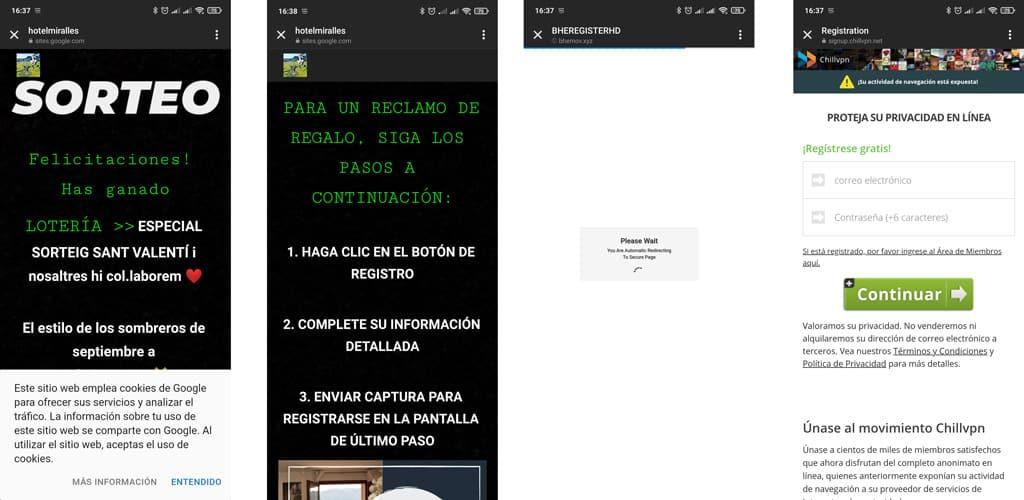 campana phishing instagram
