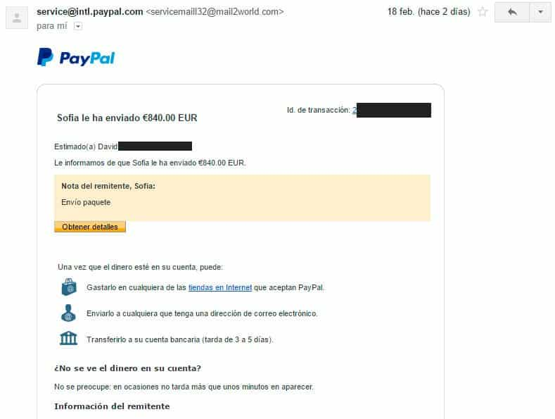 paypal fail