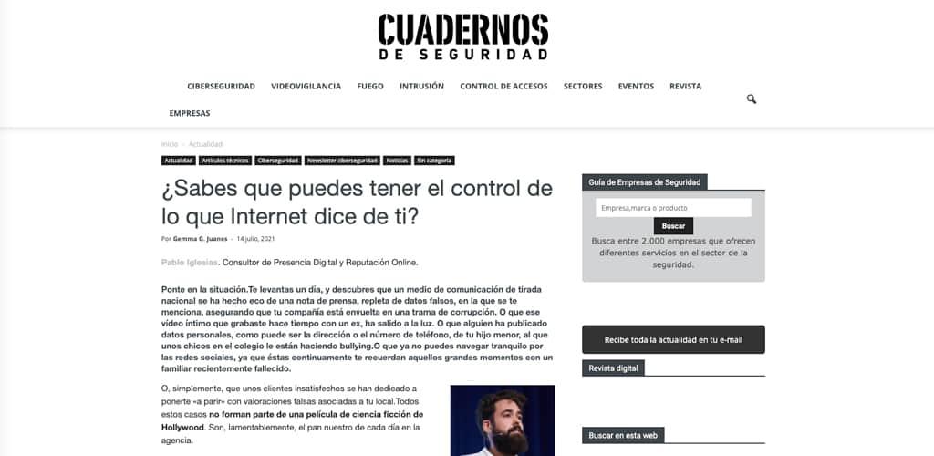 ¿Sabes que puedes tener el control de lo que Internet dice de ti?