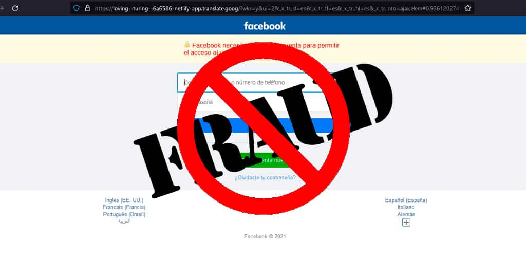 Cómo funciona la campaña de phishing en Facebook: «¿Eres tú el que aparece en este vídeo?»